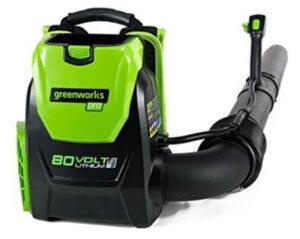 Greenworks 80V 145MPH - 580CFM Cordless Backpack Leaf Blower